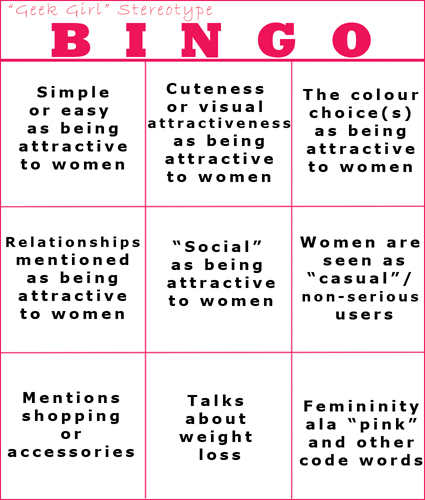 Stereotype Bingo