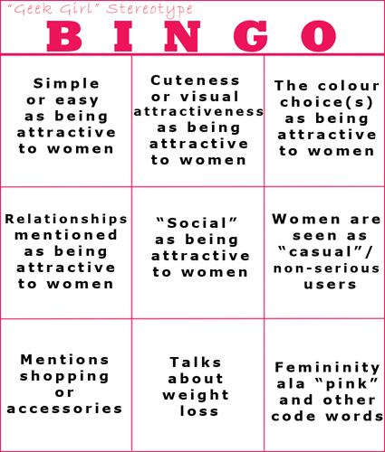 Stereotype Bingo