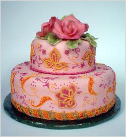 Purva's cake